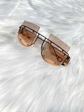 """The Don"" Sunglasses- Champagne - shopkultuur"