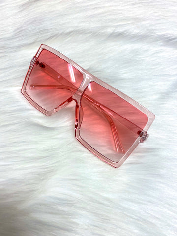 """Catching Flights"" Sunglasses - Pink - shopkultuur"