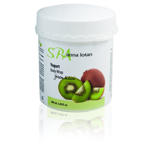 Yogurt Body Wrap Green Kiwi