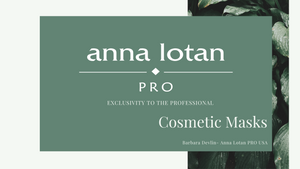 Anna Lotan Pro Cosmetic Masks Video