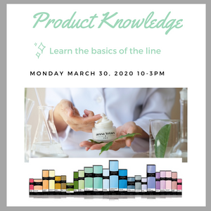 Product Knowledge 3/30