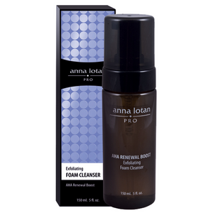 AHA Renewal Boost Exfoliating Foam Cleanser