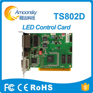 linsn ts802d sending card ful color led video display synchronous led video card ts802 original factory directly supply