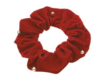 Velvet Holiday Ruffs (with Bells!)
