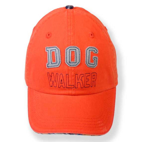 """Dog Walker"" Baseball Hats"
