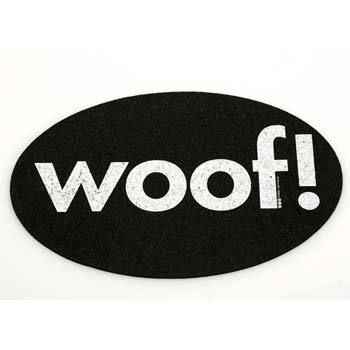 Woof!  Placemat