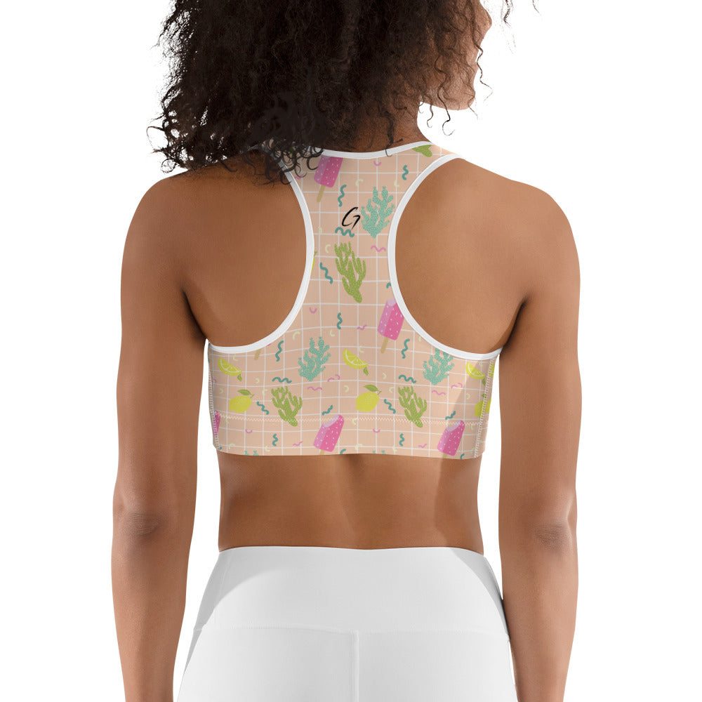 Icecream Sportsbra print