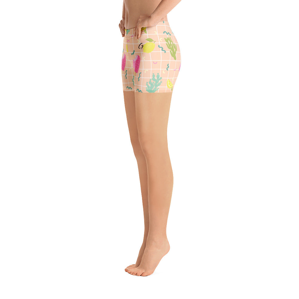 Shorts Ice cream print