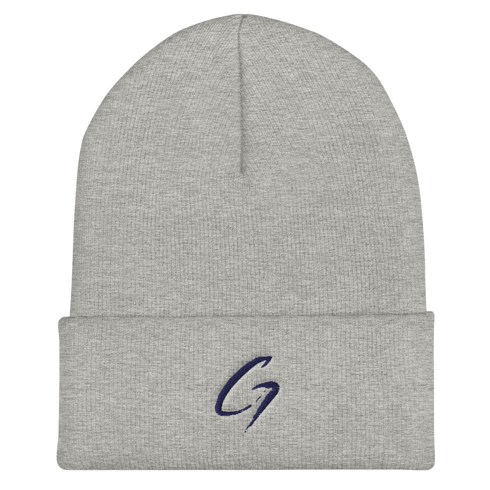 Cuffed Beanie Dark blue G