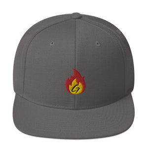 Snapback Hat GD Fire