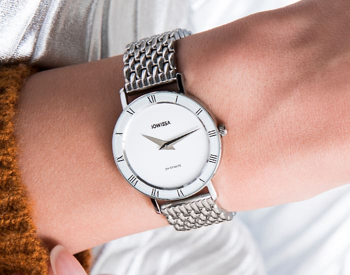 The elegant ladies' watches of the Jowissa Roma series are every bit as fashionable and versatile, simultaneously modern and classic, as the vibrant Italian city for which they are named. The Collection is Swiss Made