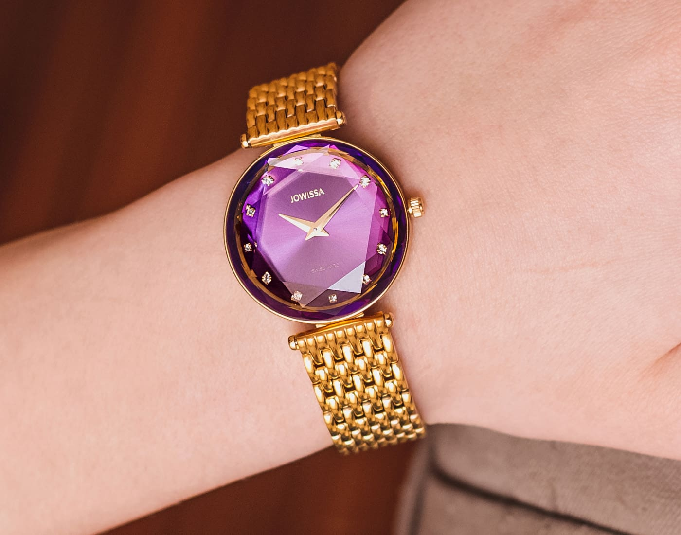 Facet Brilliant Swiss Ladies Watches by Jowissa