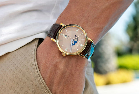 Swiss Moonphase Watch Magno by Jowissa