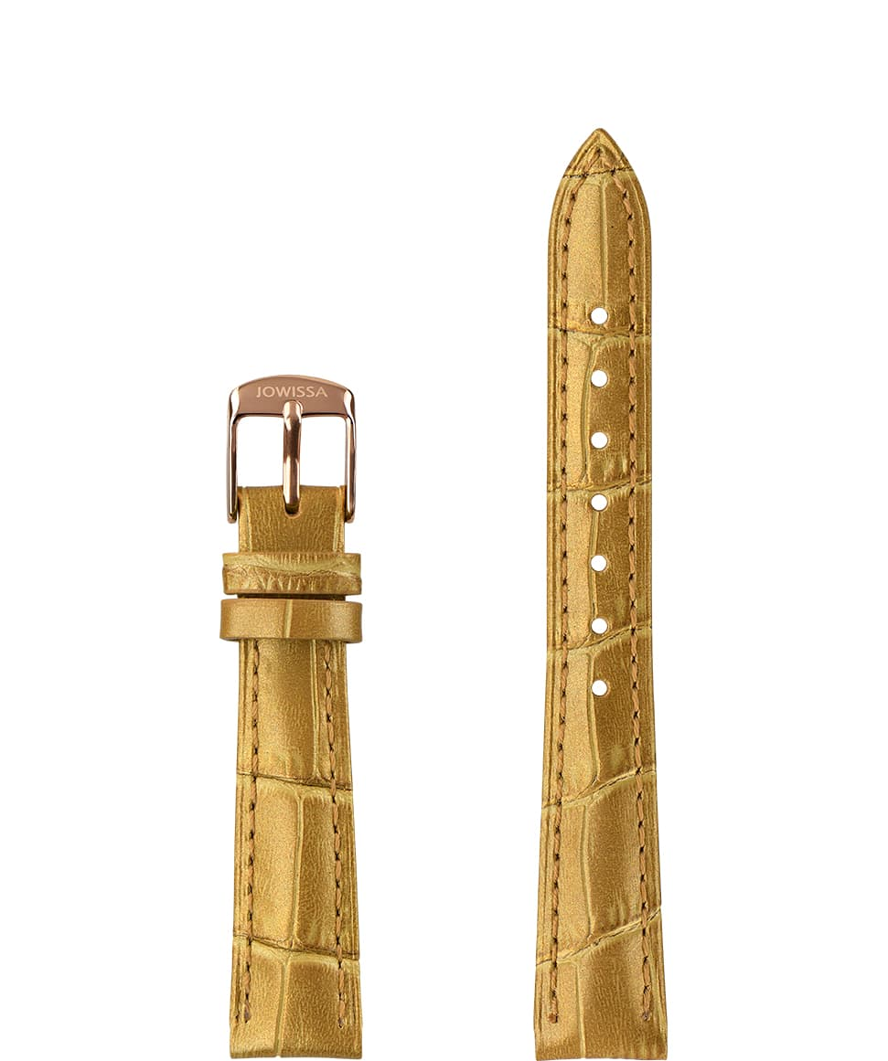 Pearl Croco Watch Strap E3.1358