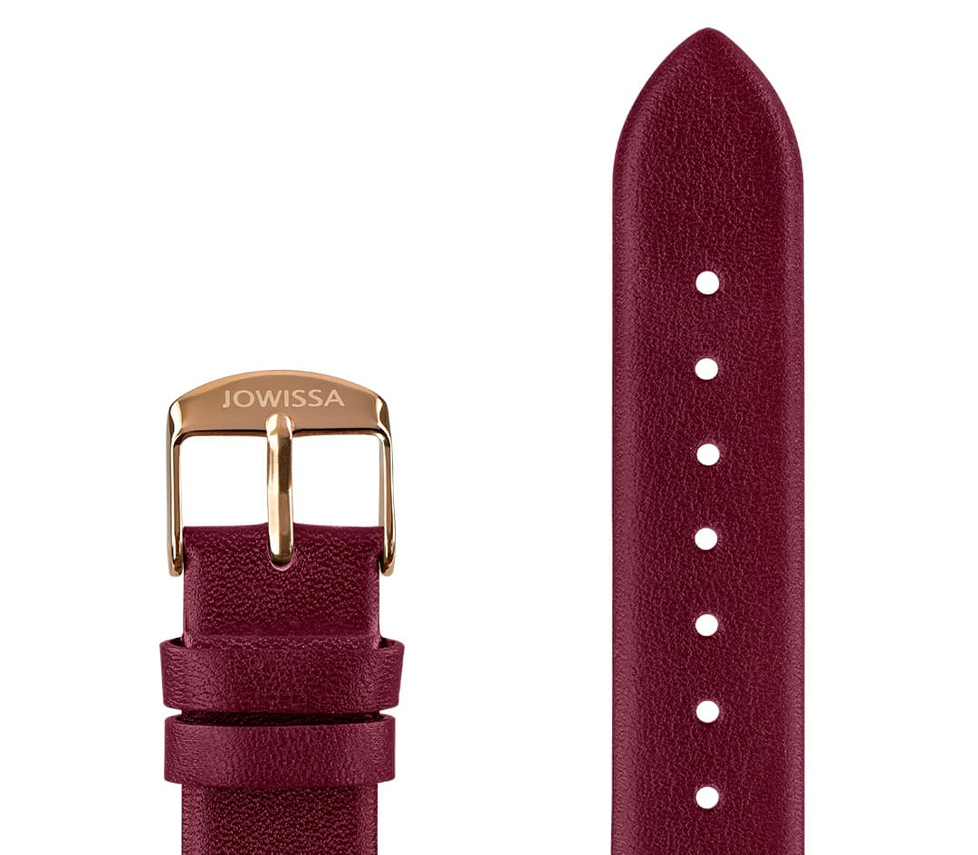 Plain Mat Leather Watch Strap E3.1459.L