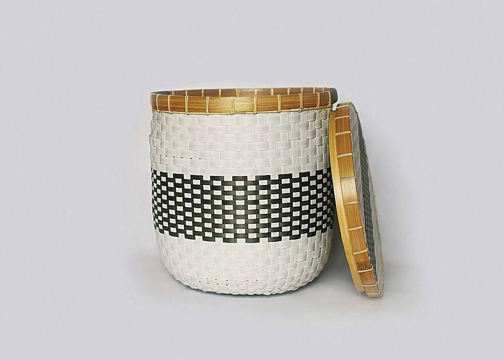 La Abode Signature Eco-Friendly Set Of 2 Baskets