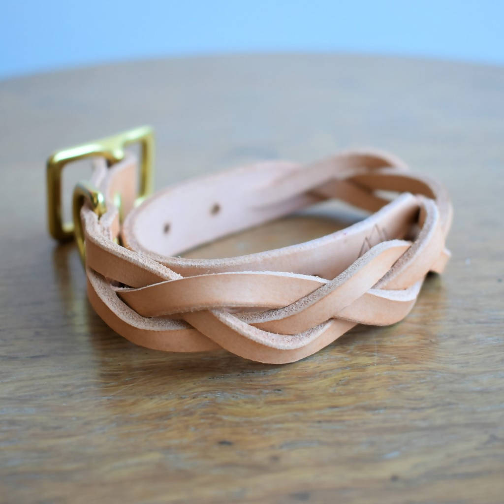 'Braid Envy' Collar - Natural