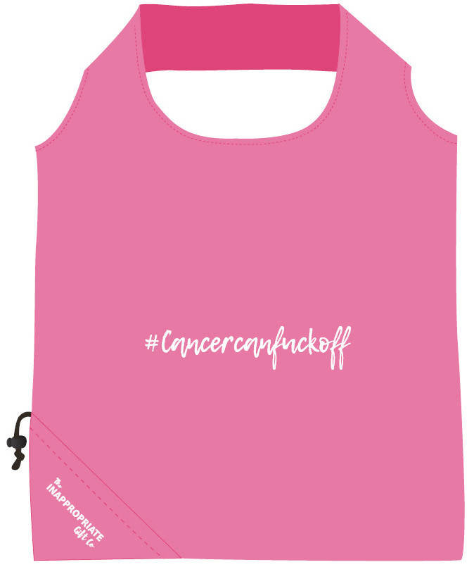 #Cancercanfuckoff sprint folding bag
