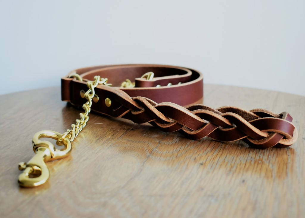 'Braid Envy' Leash - Premium
