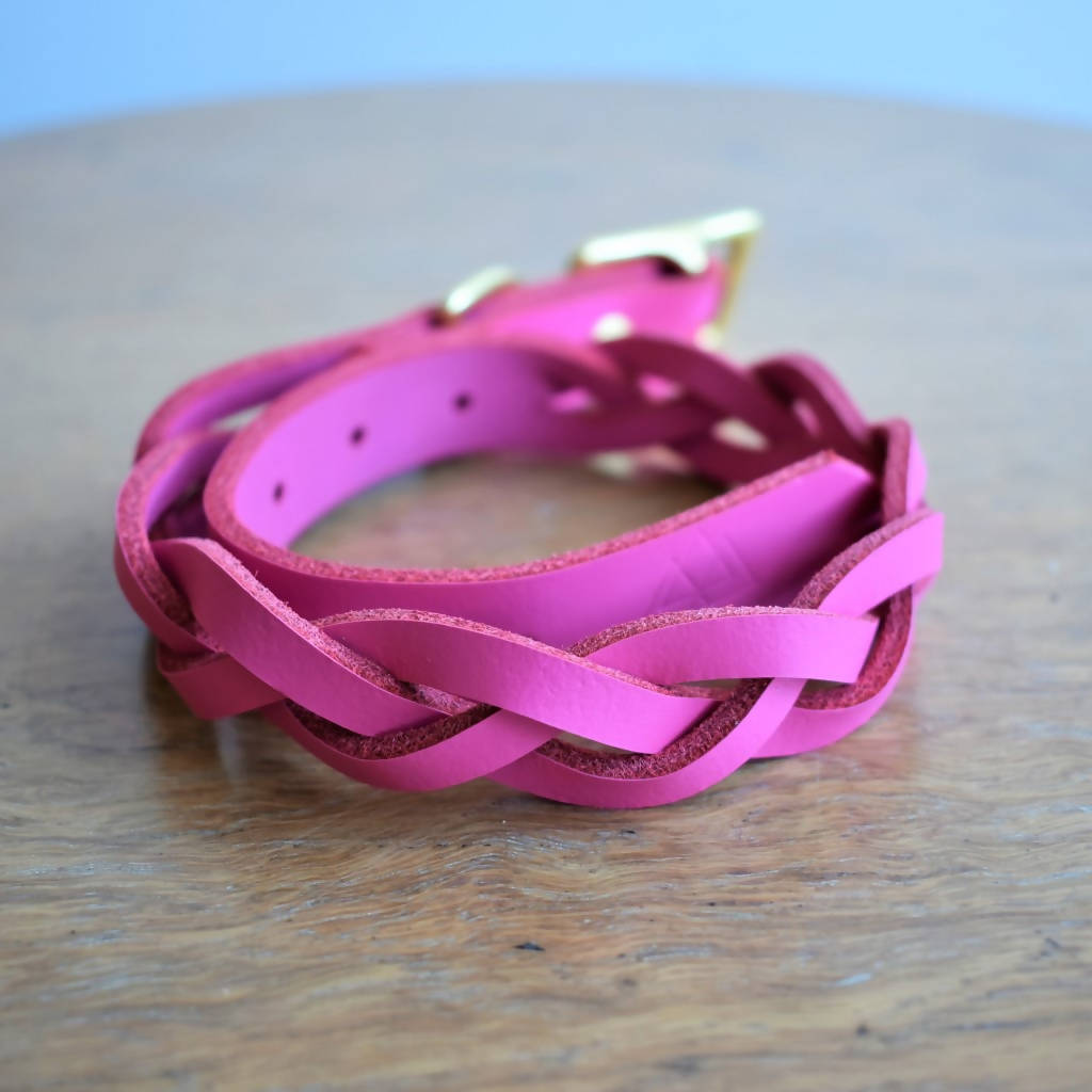 'Braid Envy' Collar - Hot Pink or Navy