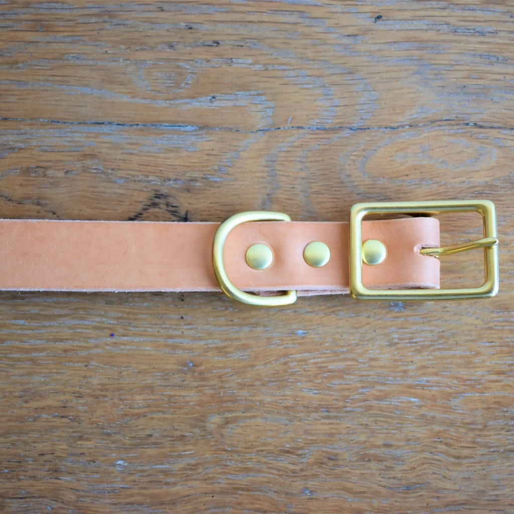 'Plane Dane' Collar - Natural
