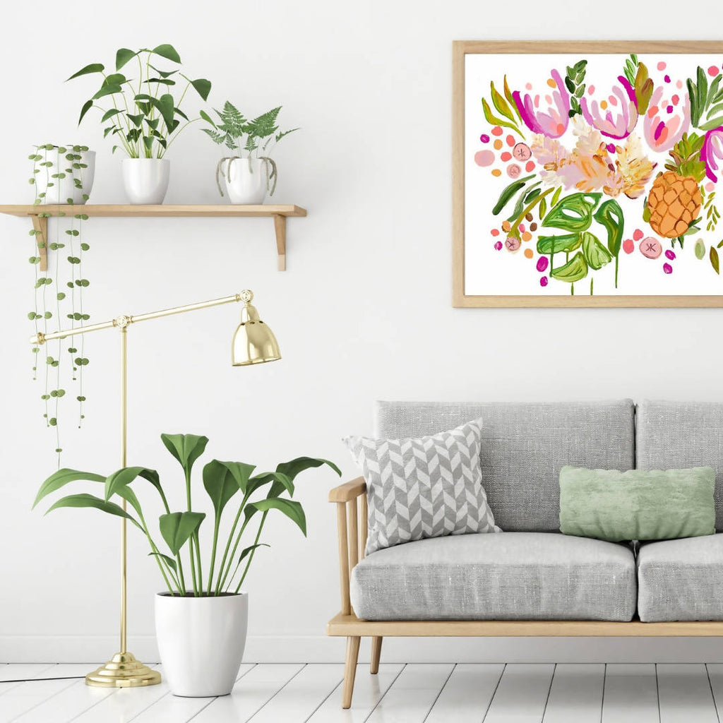 From the Garden Wall Art Print