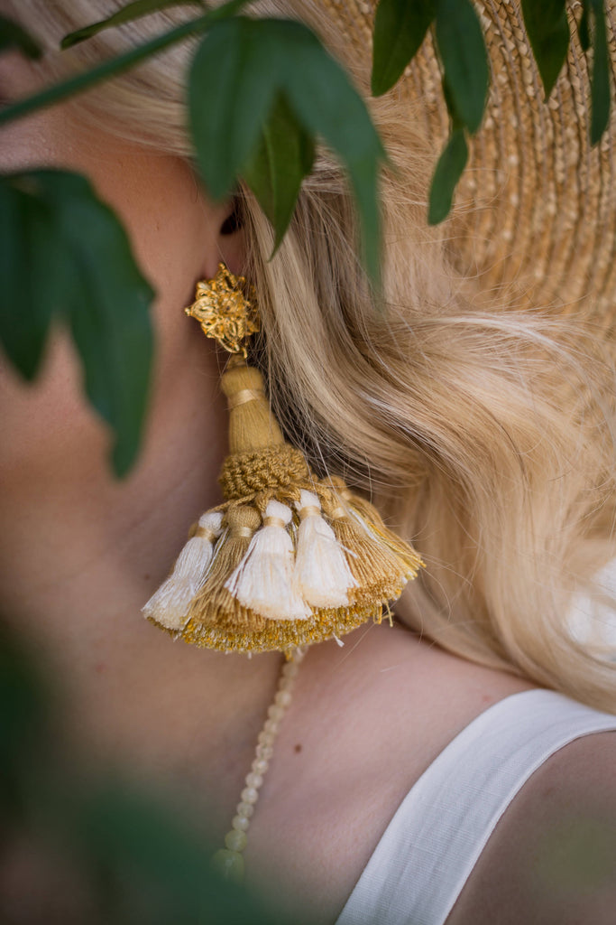 The Sunshine Siren Earrings