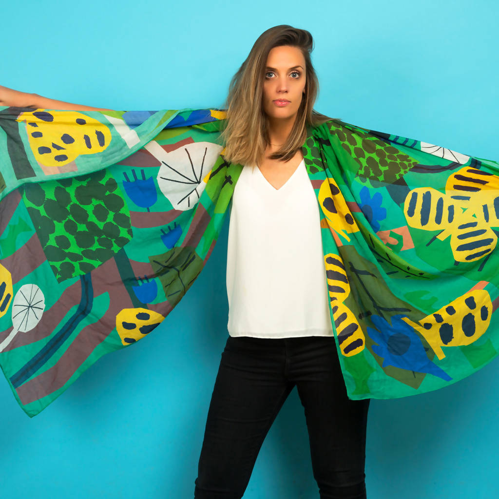 Butterfly Effect Scarf by James Daw