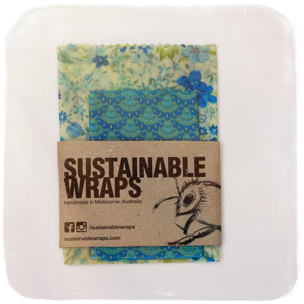 Sustainable Wraps Cheese Pack