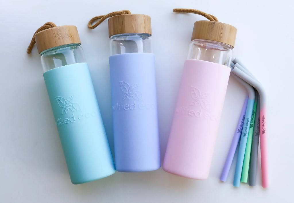 650ml Borosilicate Glass Water Bottle