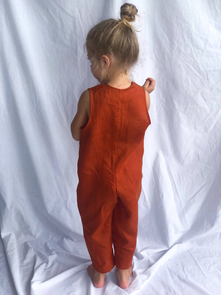 Terre Jumpsuit - Terracotta