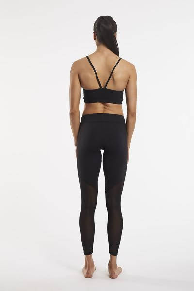 Split Mesh Eco Friendly Leggings