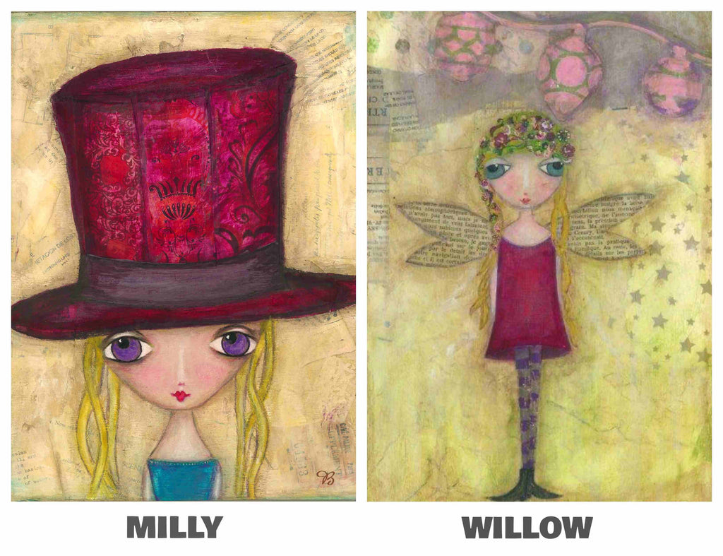 LOVE YOUR LITTLE GIRL CARD PACK No. 1
