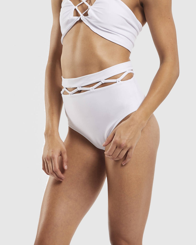 Cut out Brief - White