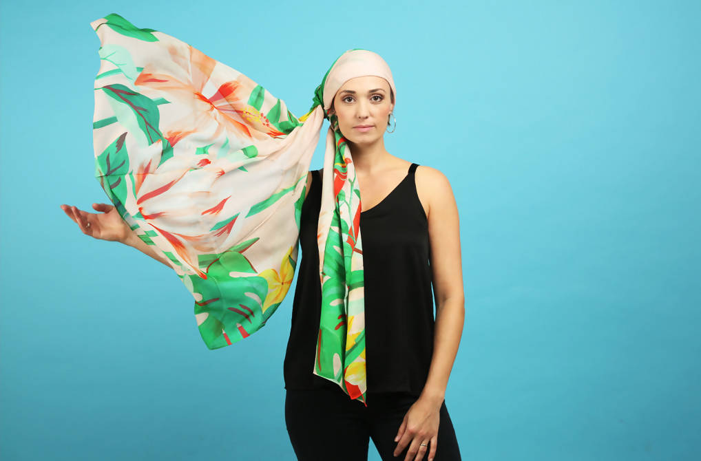 Wanderlust Warrior Scarf by Bella Gomez