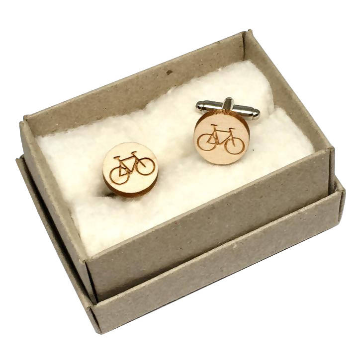 Bicycle Cuff Links