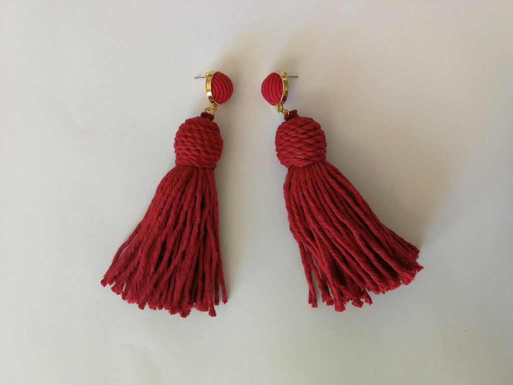 The Crimson Queen Earrings