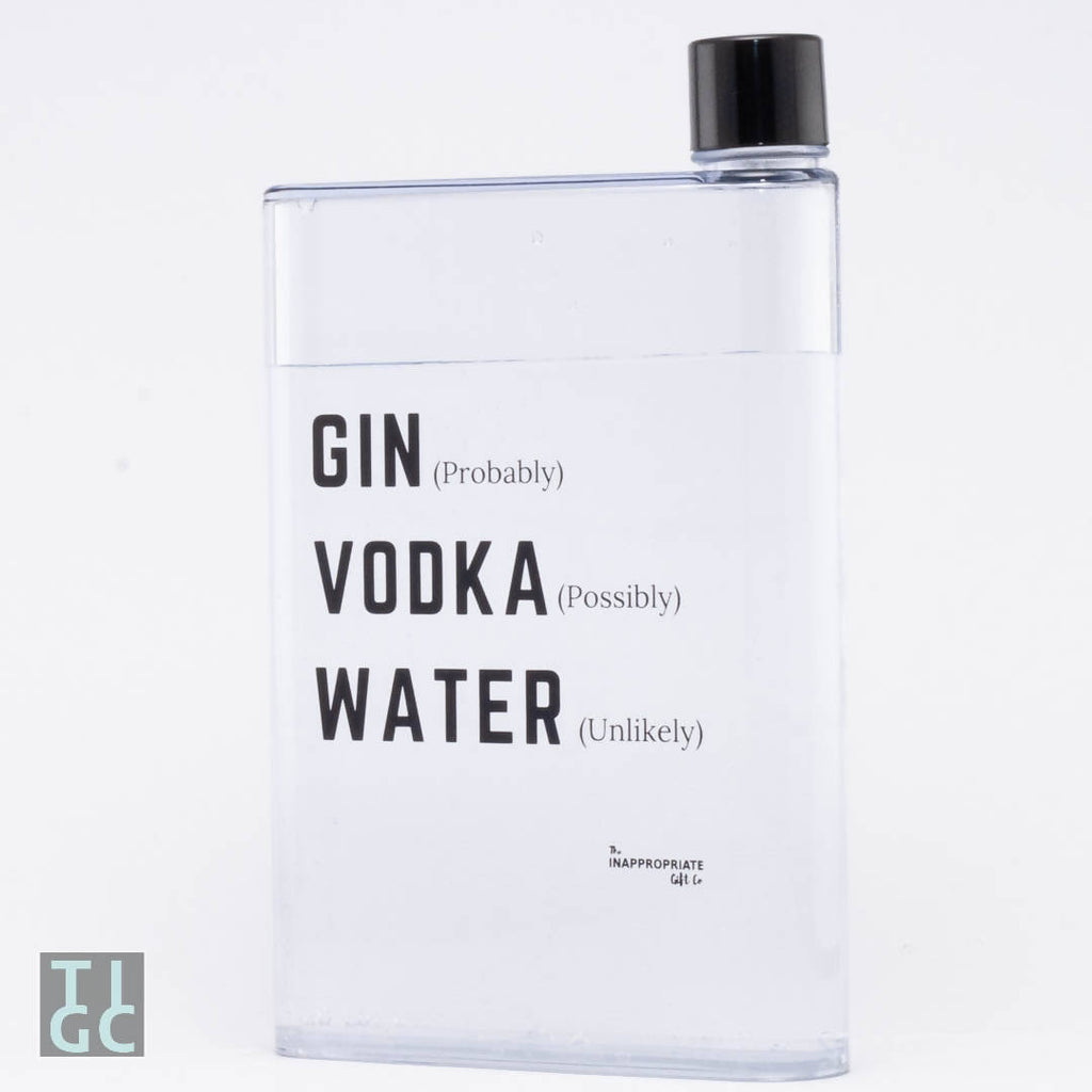 Water Bottle - Gin, Vodka or actually Water?