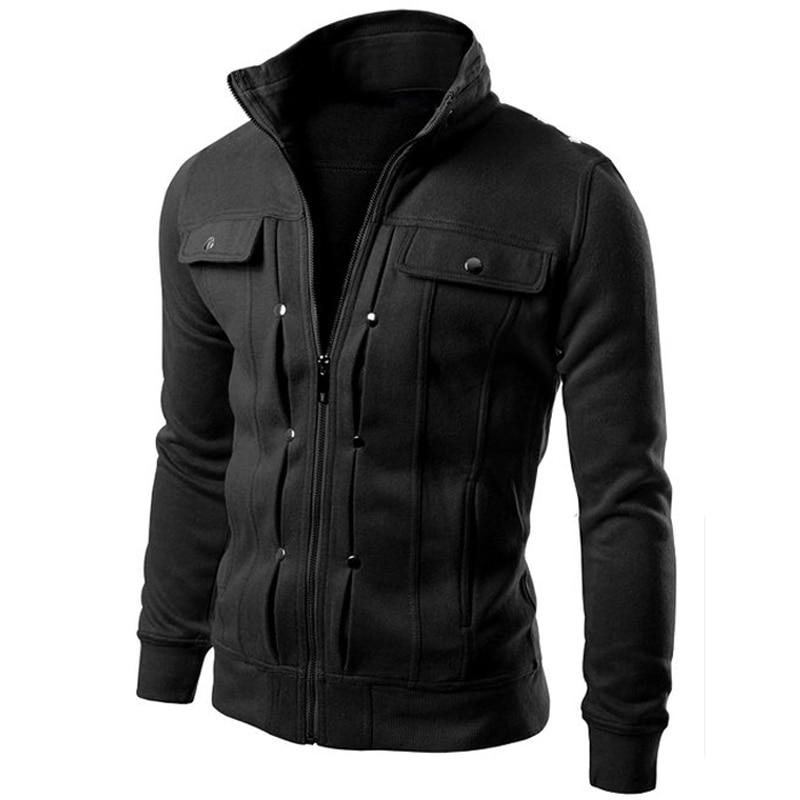 Brand Jacket Multi Button Hoodies Men Fashion Tracksuit Male Mens Purpose Tour - DUO MEN STORE