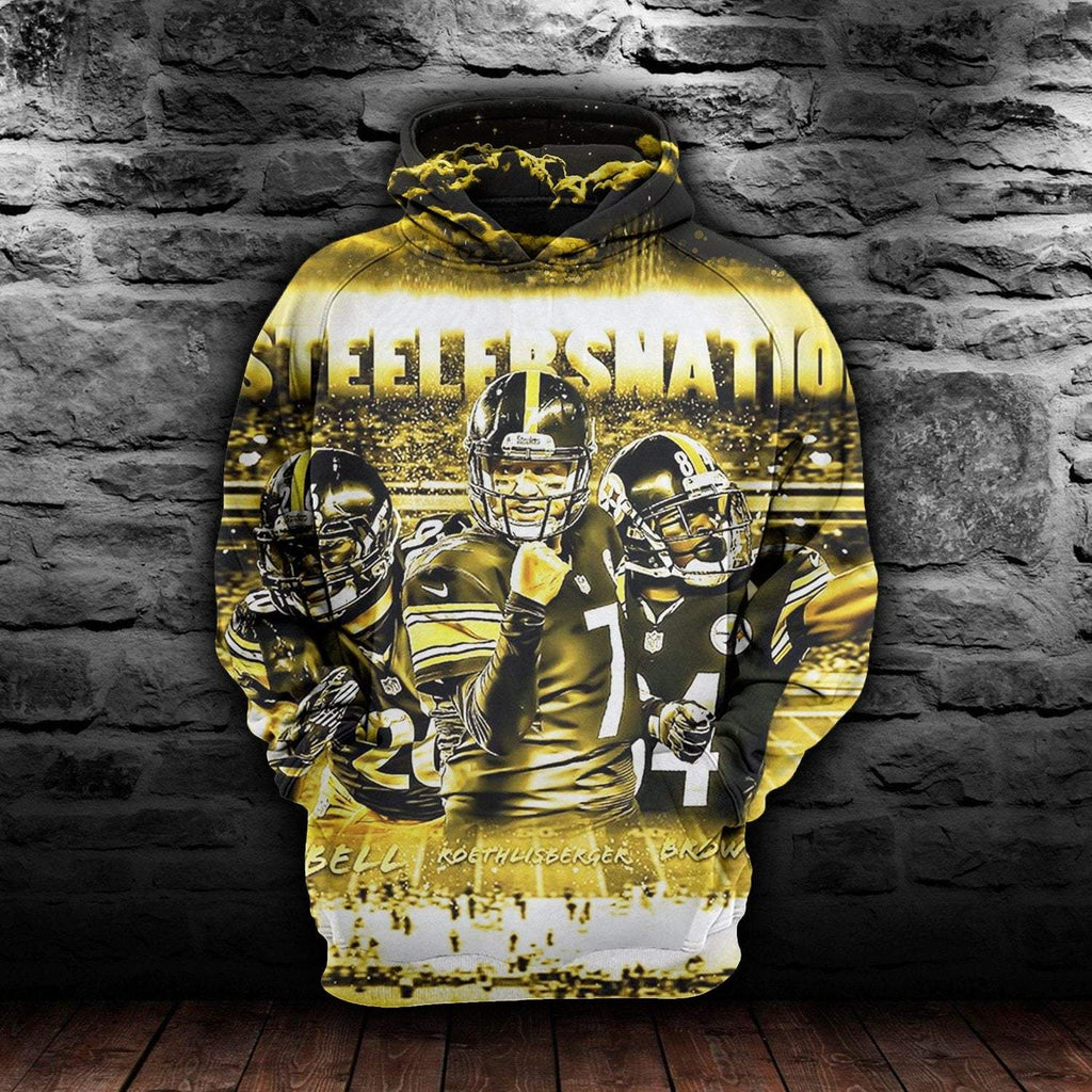 3D Pittsburgh Penguins Sweater American Football Team Men Women Hoodies Funny Rugby Clothes - DUO MEN STORE