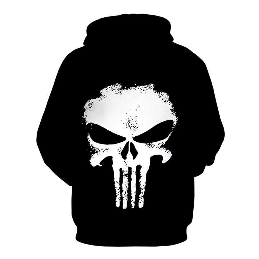 Punisher Hoodies Women Men 3D Sweater Superhero Pullover Novelty Tracksuit Fashion Hooded Streetwear - DUO MEN STORE