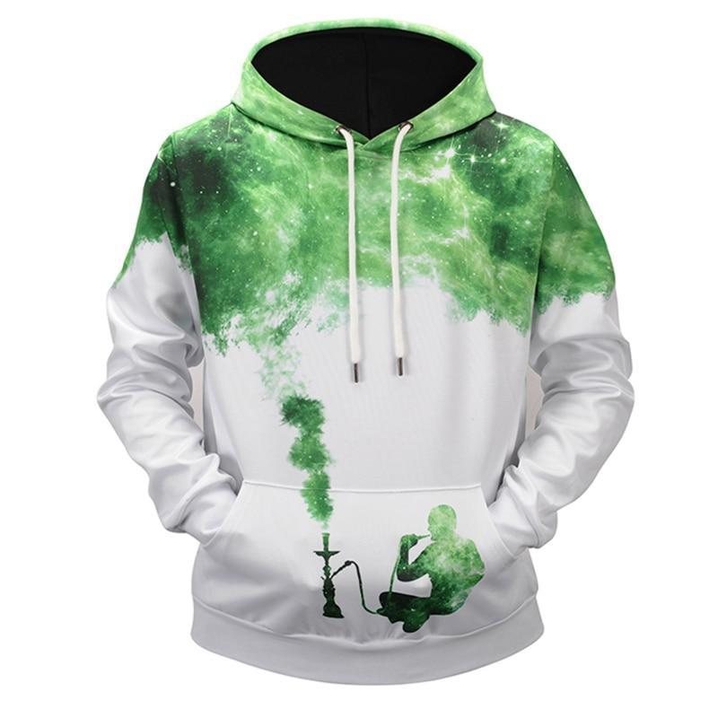 Men Women 3D Space Printed Hoodies Pullover - DUO MEN STORE