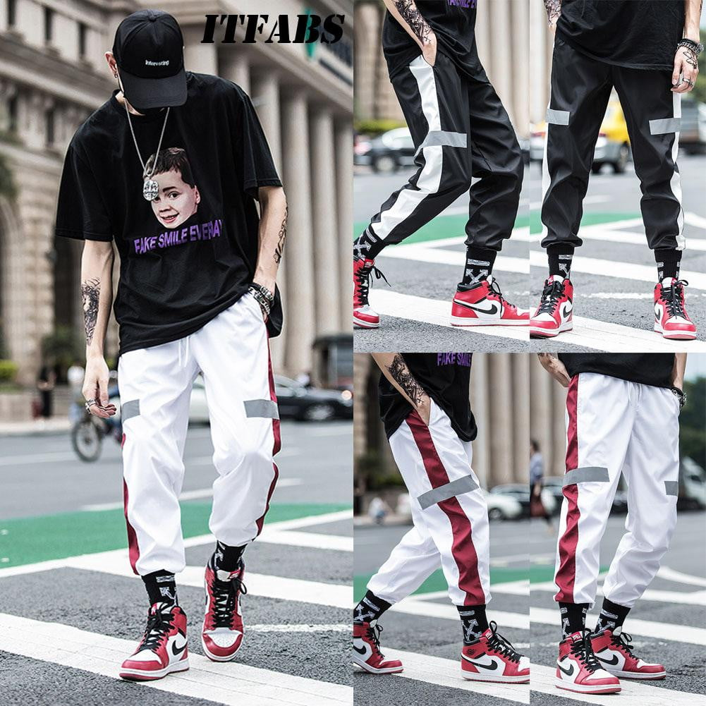 Streetwear Fitness Men Hip Hop Sweat Casual Joggers - duo-men-store