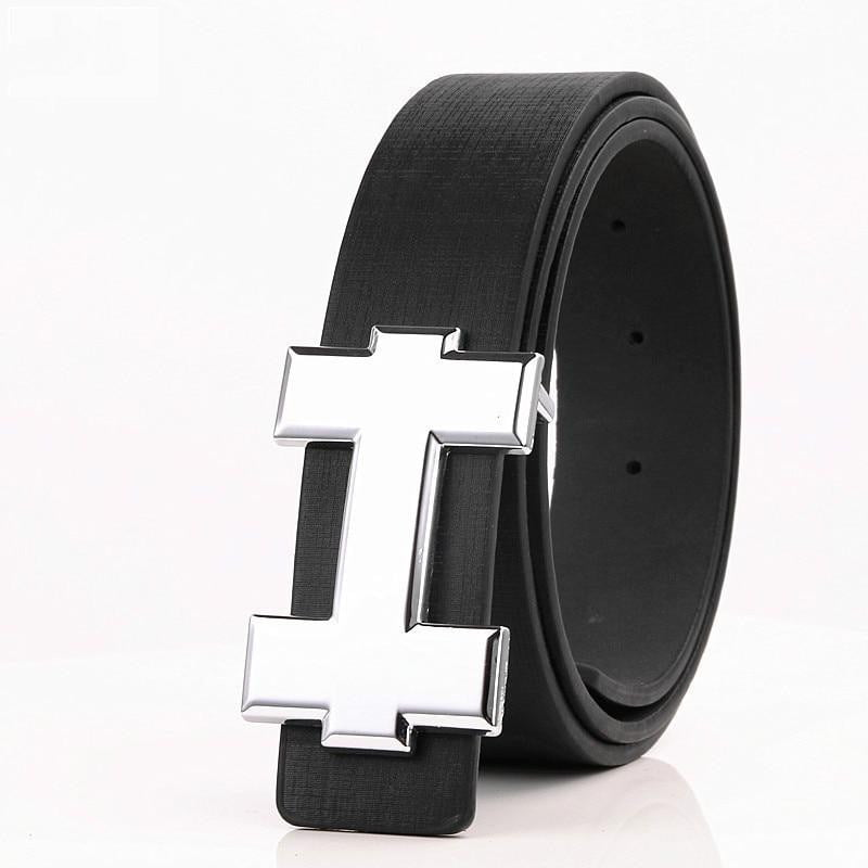 Luxury Designer H Brand Designer Belts Men High Quality Male Genuine Real Leather - duo-men-store
