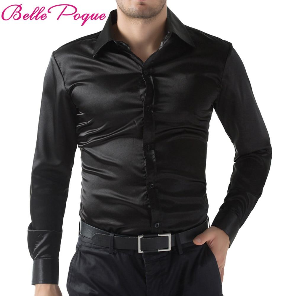 Casual Men Stylish Slim Fit Short Solid Color Long Sleeve Shirts - duo-men-store