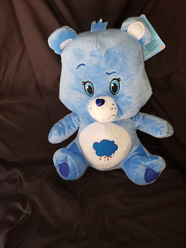 "16/"" Lotsa Heart Elephant Care Bear Cousin Stuffed Plush NWT Smokefree"