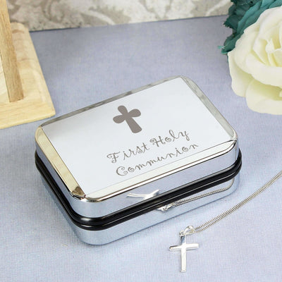1st Holy Communion Cross Necklace-Jewellery-Give Personalised Gifts