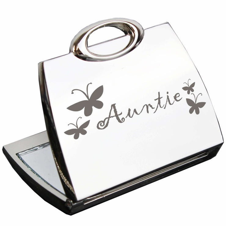 Auntie Handbag Compact Mirror-Compact Mirror-Give Personalised Gifts