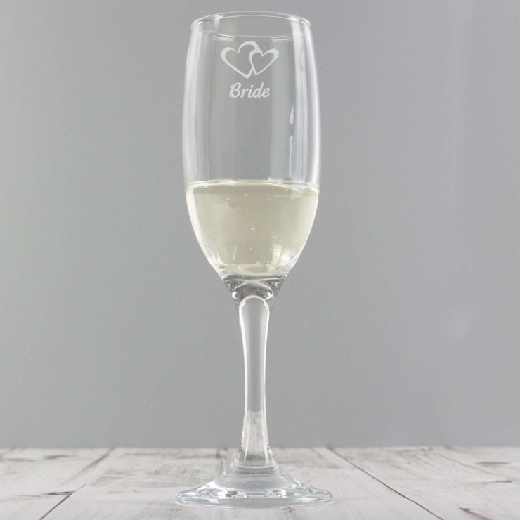 Bride Single Flute-Flute-Give Personalised Gifts