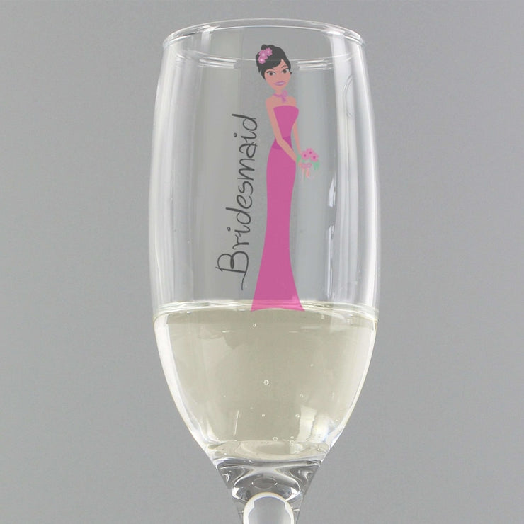 Fabulous Bridesmaid Flute-Flute-Give Personalised Gifts